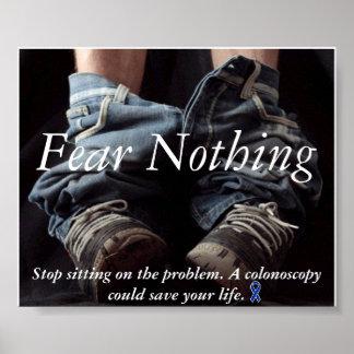 Miedo nada poster