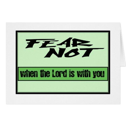 miedo no tarjetón