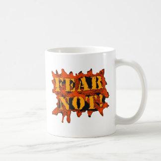 ¡Miedo no! Taza Clásica