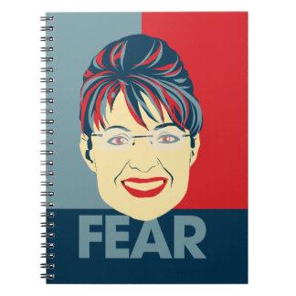 Miedo Sarah Palin Cuaderno