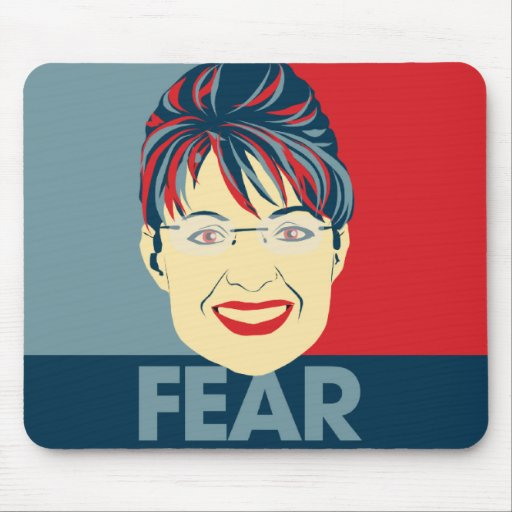 Miedo Sarah Palin Tapete De Ratones