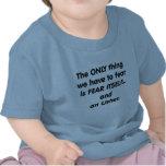 Miedo Usher Camisetas