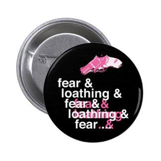 Miedo y repugnancia pin