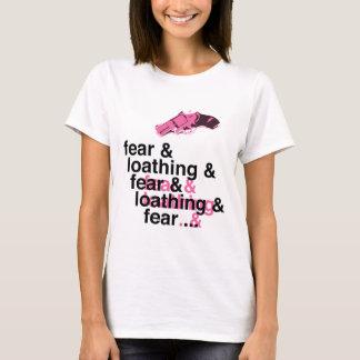 Miedo y repugnancia playera