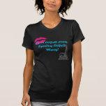 Miel del campo petrolífero camisetas