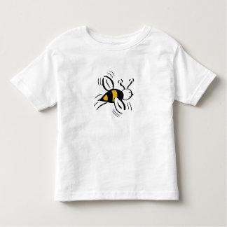 Miel libre y negro de la abeja playeras