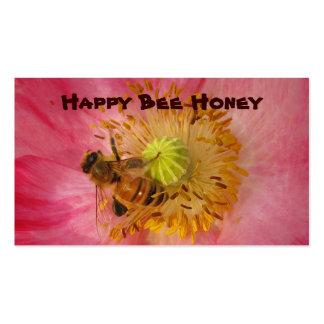 Miel para la venta tarjetas de visita