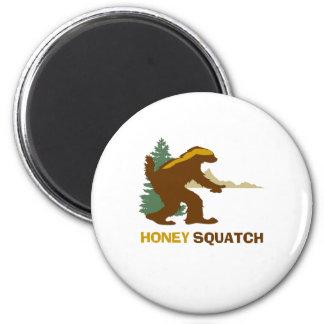 Miel Squatch Imán Redondo 5 Cm