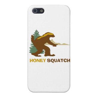 Miel Squatch iPhone 5 Carcasa