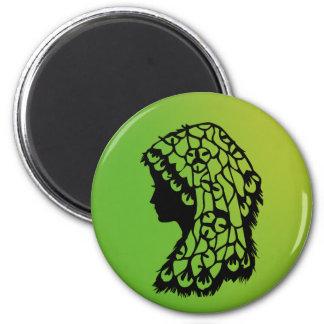 Miel verde 2010 del ángel del © del imán de la