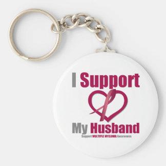 Mieloma múltiple apoyo a mi marido llaveros