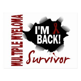 Mieloma múltiple del superviviente 7 tarjeta postal