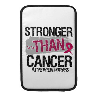 Mieloma múltiple - más fuerte que cáncer funda  MacBook