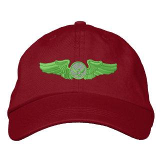 Miembro alistado de la tripulación aérea gorra de béisbol bordada