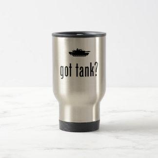 Miembro de equipo del tanque tazas