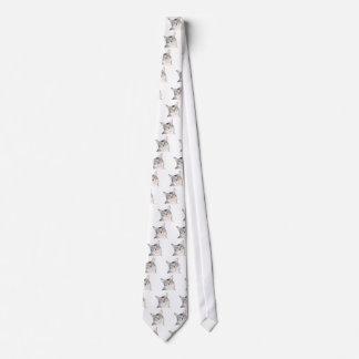 Miembro de la familia felino querido corbata
