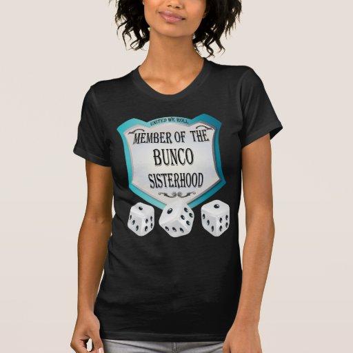 miembro de la hermandad del bunco camiseta