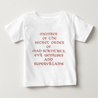 Miembro de las camisetas del niño secreto de la