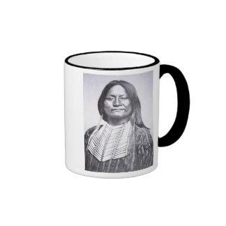 Miembro de una tribu del Comanche 1872 foto de b Tazas De Café
