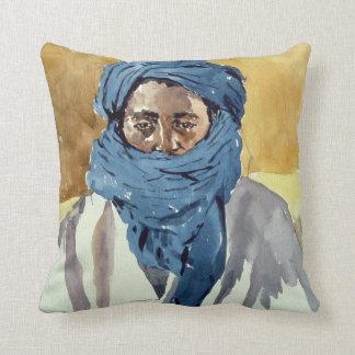 Miembro de una tribu Timbuctoo 1991 del Tuareg Cojín