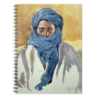 Miembro de una tribu Timbuctoo 1991 del Tuareg Note Book