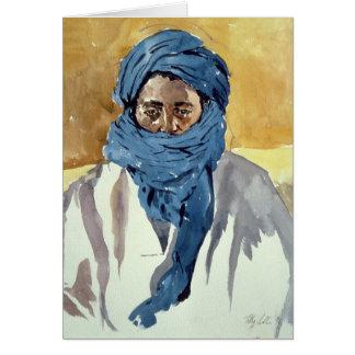 Miembro de una tribu Timbuctoo 1991 del Tuareg Tarjeta De Felicitación