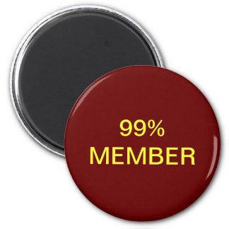 Miembro del 99% imán de nevera