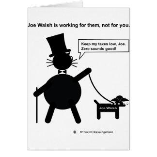 Miembro del Congreso Joe Walsh Tarjeta De Felicitación
