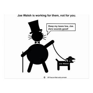 Miembro del Congreso Joe Walsh Tarjeta Postal