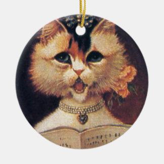 Miembro del coro ornamento de navidad