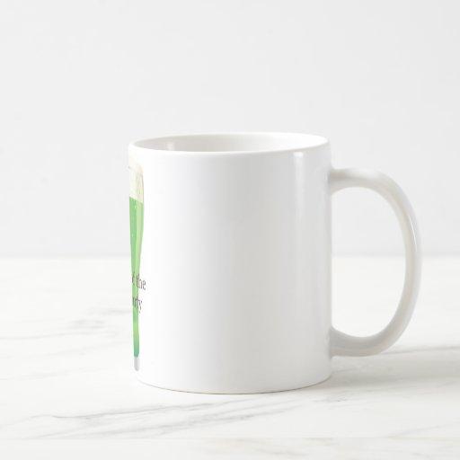 Miembro del día del Partido Verde del St Patrick d Tazas De Café