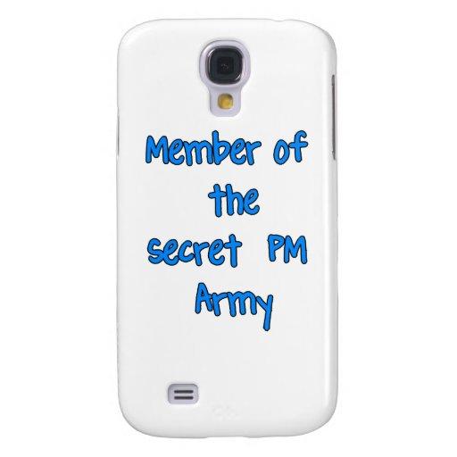 Miembro del ejército del secreto P.M.