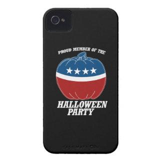 Miembro del fiesta de Halloween - .png iPhone 4 Case-Mate Carcasa