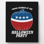 Miembro del fiesta de Halloween - .png Placa De Madera