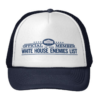 Miembro del funcionario de la lista de los enemigo gorros