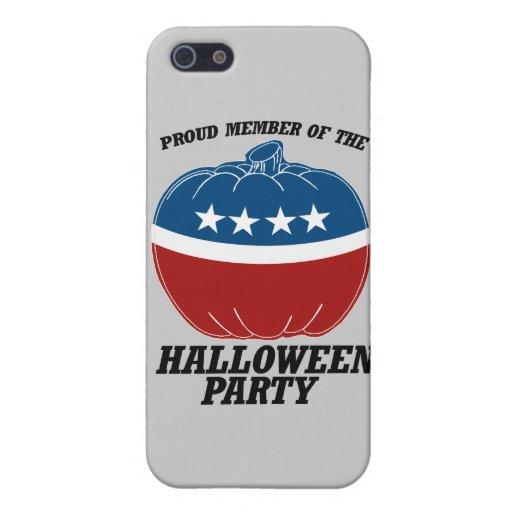 Miembro del Halloween Party.png iPhone 5 Carcasas