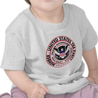 Miembro: Fiesta del té de Estados Unidos Camisetas