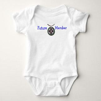Miembro futuro del círculo body para bebé