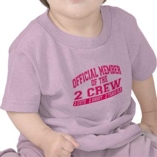 Miembro oficial del equipo 2 camisetas