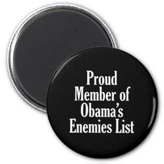 Miembro orgulloso de la lista de los enemigos de O Imán Redondo 5 Cm