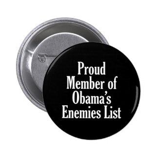 Miembro orgulloso de la lista de los enemigos de O Pin Redondo De 2 Pulgadas