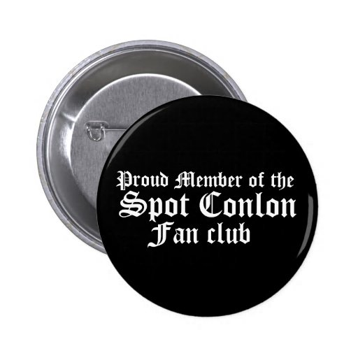 Miembro orgulloso del, punto Conlon, club de fans Pins