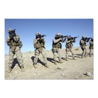 Miembros de equipo militares de Transistion Fotografía