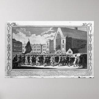 Miembros de la asociación protestante póster