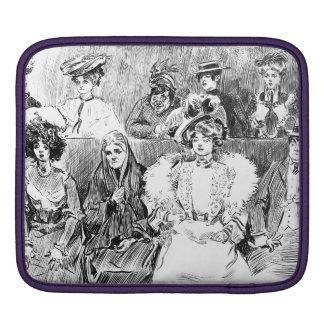 Miembros del jurado 1902 de las mujeres fundas para iPads