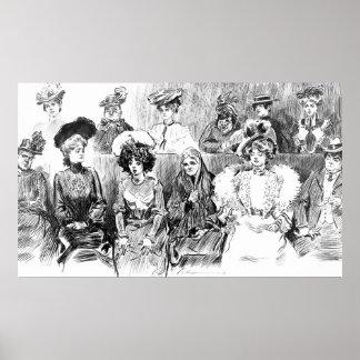 Miembros del jurado 1902 de las mujeres impresiones