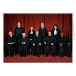 Miembros del Tribunal Supremo - foto 2009 Tarjeta