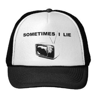 Miento a veces gorras