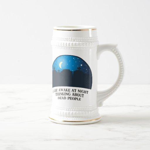 Miento despierto (2011) jarra de cerveza