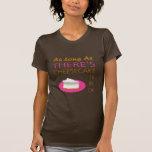 Mientras haya pastel de queso seré aceptable camisetas
